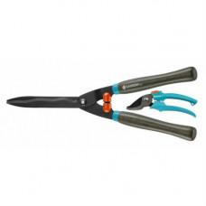 Ножницы для живой изгороди механические + секатор
