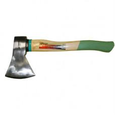 Топор 1000г кованый с деревянной ручкой SKRAB зеленый
