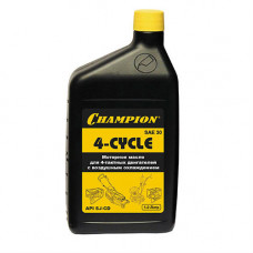 Масло 4-х тактное SAE30 CHAMPION  (1л.) минеральноe 952810