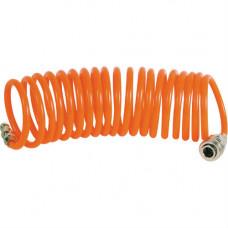 Шланг спиральный Кратон PU 10 м