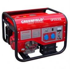 Бензиновый генератор GreenField GF 5500E
