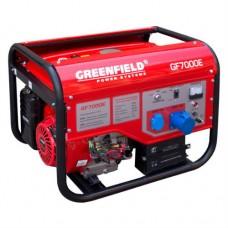 Бензиновый генератор GreenField GF 7000E