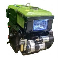 Двигатель SH190NDL -10.0 л.с + эл. стартер вод. охлаждение