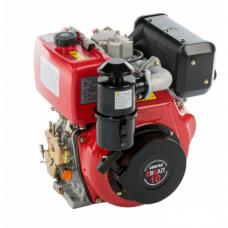 Двигатель  BRAIT 186FAE дизель (10л.эл. запуск,вал шлицы,25мм)